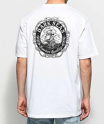 Dark Seas Cold Current camiseta blanca