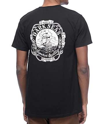 Dark Seas Cold Current camiseta negra
