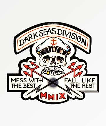 Dark Seas Cut Above Sticker