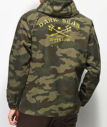Dark Seas Defender Camo Anorak Jacket