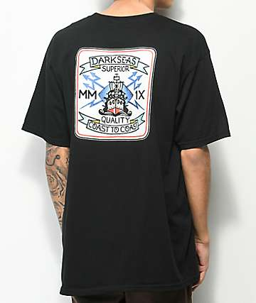 Dark Seas Destroyer Black T-Shirt
