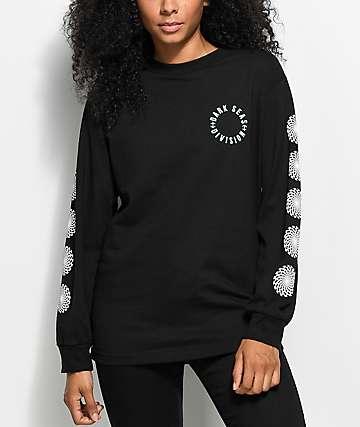 Dark Seas Drained camiseta negra de manga larga