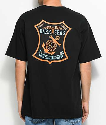 Dark Seas Finest Black T-Shirt