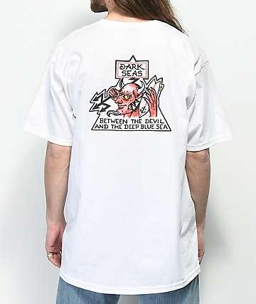 Dark Seas Fire Water camiseta blanca