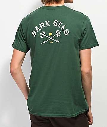 Dark Seas Free Booter Green T-Shirt