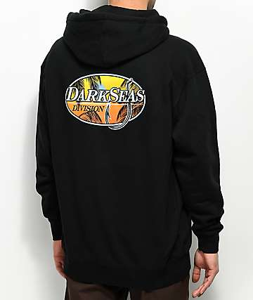 Dark Seas Good Days Black Hoodie