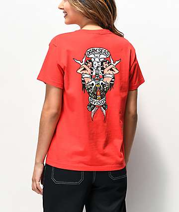 Dark Seas Guidelines Red T-Shirt