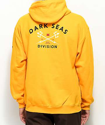Dark Seas Headmaster Gold Fleece Hoodie