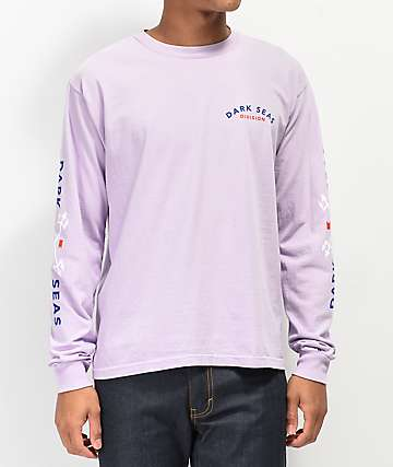 Dark Seas Headmaster Orchid Long Sleeve T-Shirt