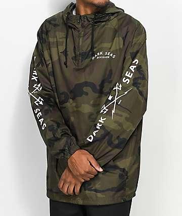 Dark Seas Headmaster chaqueta anorak camuflada