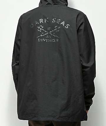 Dark Seas Headmaster chaqueta anorak negra