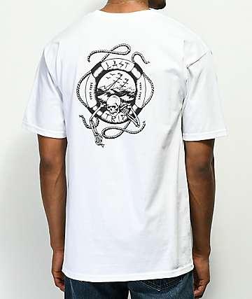 Dark Seas Last Trip White T-Shirt