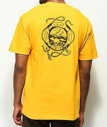 Dark Seas Last Trip camiseta dorada