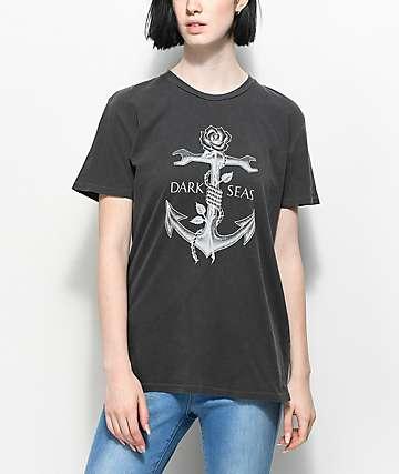 Dark Seas Lost Love camiseta negra