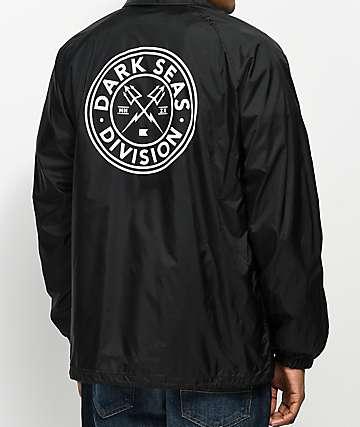 Dark Seas Navigator Black Coaches Jacket