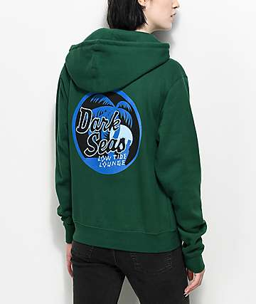 Dark Seas Night Cap Green Hoodie