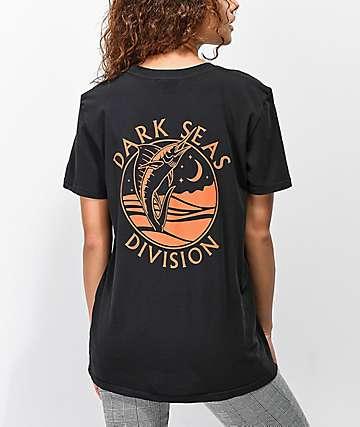 Dark Seas Night Jewel camiseta negra