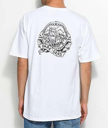 Dark Seas Rumors camiseta blanca