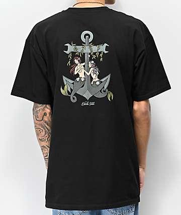 Dark Seas Temptress Black T-Shirt