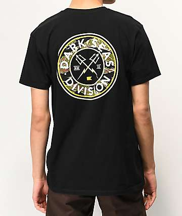 Dark Seas Tonkin Black T-Shirt