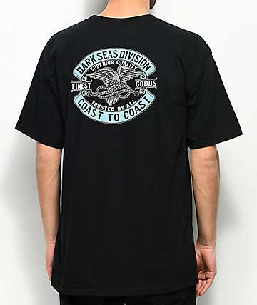 Dark Seas Trusted Black T-Shirt