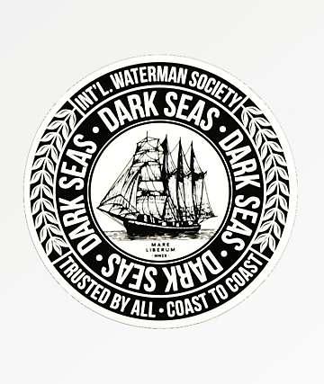 Dark Seas Water Marker Sticker