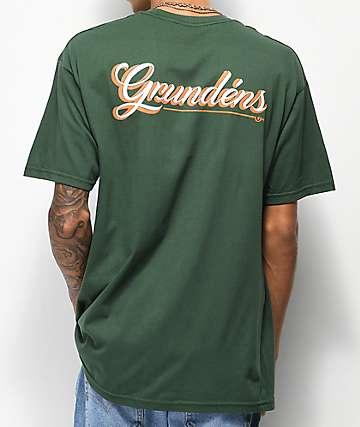 Dark Seas x Grundens First Class Green T-Shirt