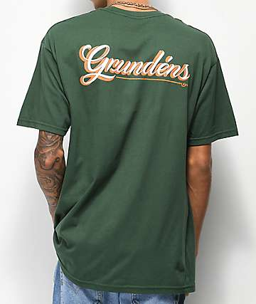 Dark Seas x Grundens First Class camiseta verde