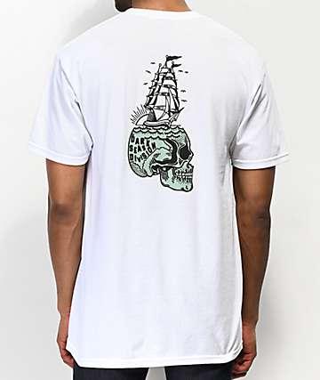 Dark Seas x SBK Brainwashed White T-Shirt