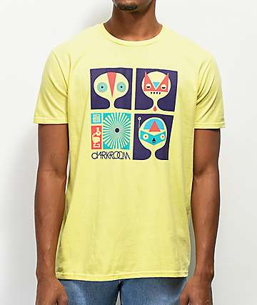 Darkroom Dark Bandits Yellow T-Shirt