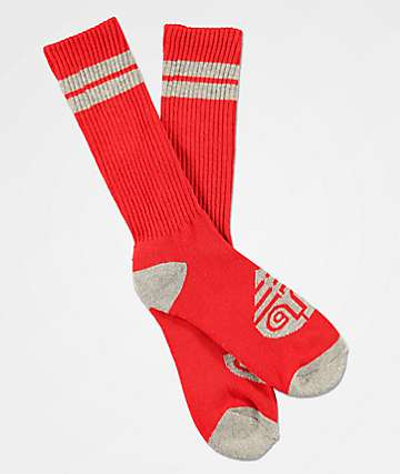 Darkroom Diffusion calcetines rojos