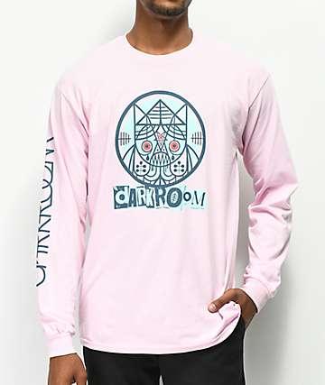 Darkroom Doomrat camiseta rosa de manga larga