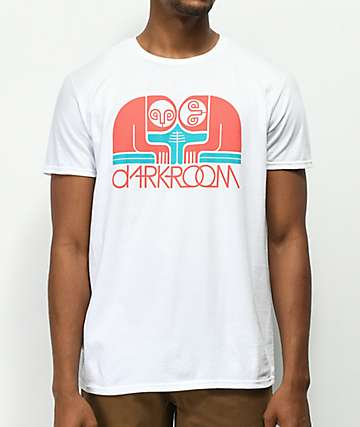 Darkroom Sloths White T-Shirt
