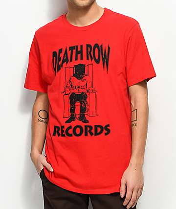 Death Row Records Red T-Shirt