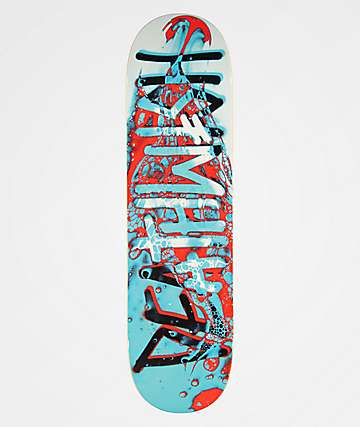 "Deathwish Deathspray Aqua 8.25"" tabla de skate"
