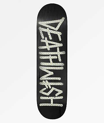 """Deathwish Deathspray Holographic 8.25"""" Skateboard Deck"""