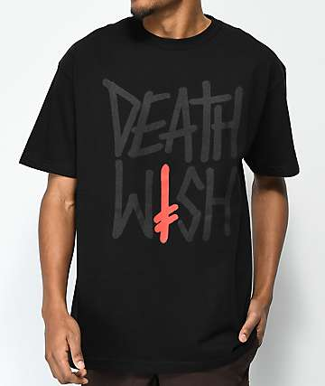 Deathwish Deathstack Black T-Shirt