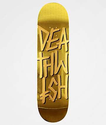 "Deathwish Deathstack Temple 8.38"" Skateboard Deck"