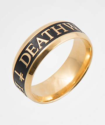 Deathwish Divine Gold Ring