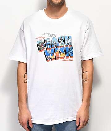 Deathwish Florida Tour White T-Shirt