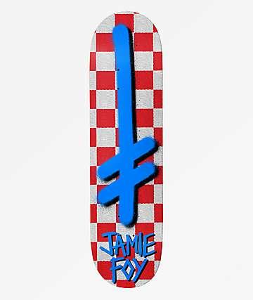 """Deathwish Foy Gang Logo Check 8.5"""" Skateboard Deck"""