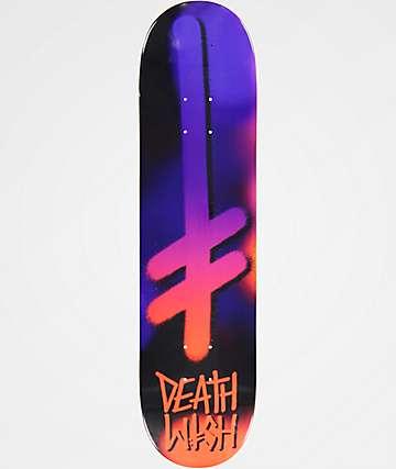 "Deathwish Gang Logo Fuzz 8.0"" Skateboard Deck"