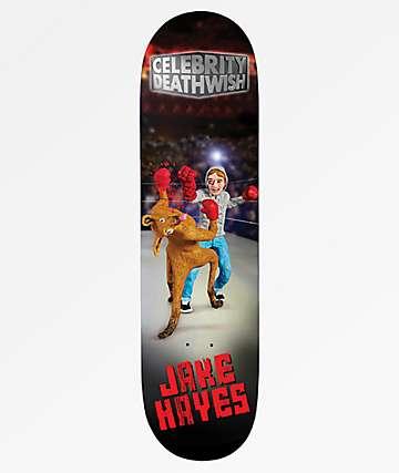 "Deathwish Hayes Celebrity 8.125"" tabla de skate"