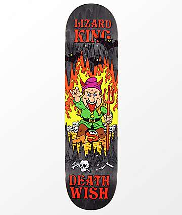 "Deathwish LK Happy Place 7.875"" Skateboard Deck"