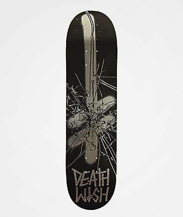 """Deathwish Shattered Gang Logo 8.0"""" Skateboard Deck"""