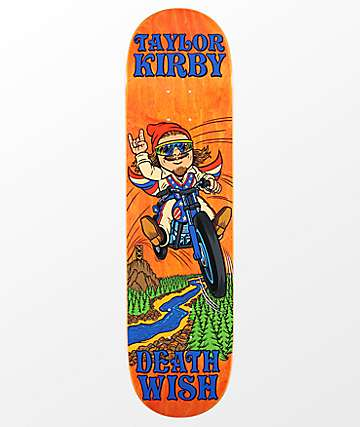 "Deathwish TK Happy Place 8.25"" Skateboard Deck"