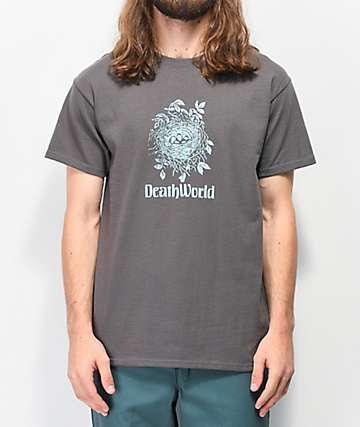 Deathworld Bird Nest Black T-Shirt