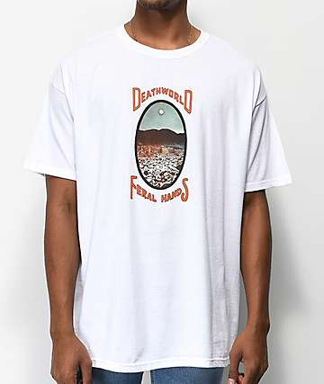 Deathworld Eternal camiseta blanca