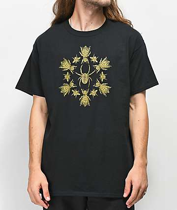 Deathworld Flies camiseta negra