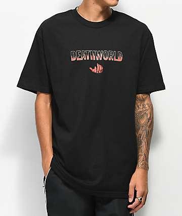 Deathworld Heat camiseta negra